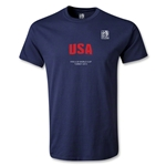 FIFA U-20 World Cup Turkey Youth USA T-Shirt (Navy)