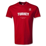 FIFA U-20 World Cup Turkey Youth Turkey T-Shirt (Red)