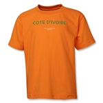 Cote D'Ivoire 2013 FIFA U-17 World Cup UAE Youth T-Shirt (Orange)
