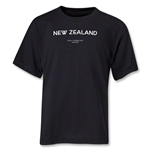 New Zealand 2013 FIFA U-17 World Cup UAE Youth T-Shirt (Black)