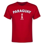 Paraguay FIFA U-17 World Cup Chile 2015 Youth T-Shirt (Red)