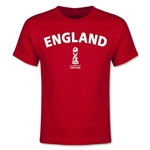 England FIFA U-17 World Cup Chile 2015 Youth T-Shirt (Red)