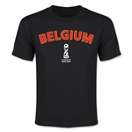 Belgium FIFA U-17 World Cup Chile 2015 Youth T-Shirt (Black)