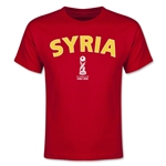 Syria FIFA U-17 World Cup Chile 2015 Youth T-Shirt (Red)