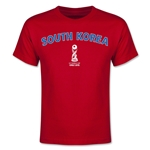 South Korea FIFA U-17 World Cup Chile 2015 Youth T-Shirt (Red)