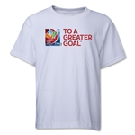 FIFA Women's World Cup Canada 2015(TM) Youth Event Slogan T-Shirt (White)