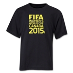 FIFA Women's World Cup Canada 2015(TM) Youth T-Shirt (Black)