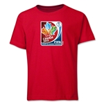 FIFA Women's World Cup Canada 2015(TM) French Core Youth T-Shirt (Red)