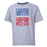 I Believe Youth T-Shirt (Gray)