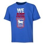 Ipswich Town We Are Youth T-Shirt (Royal)
