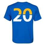 Leicester City Player Number 20 Youth T-Shirt (Royal)