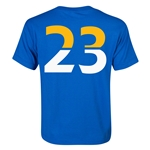 Leicester City Player Number 23 Youth T-Shirt (Royal)