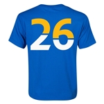 Leicester City Player Number 26 Youth T-Shirt (Royal)