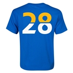 Leicester City Player Number 28 Youth T-Shirt (Royal)