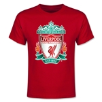Liverpool Crest Youth T-Shirt (Red)