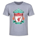 Liverpool Crest Youth T-Shirt (Gray)