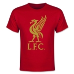Liverpool Liver Bird Youth T-Shirt (Red)