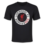 Liverpool Born and Bred Youth T-Shirt (Black)