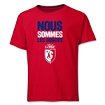 LOSC Lille We Are Youth T-Shirt (Red)
