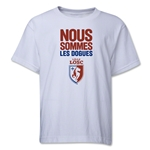 LOSC Lille We Are Youth T-Shirt (White)