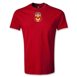 Morelia Monarcas Small Logo Youth T-Shirt (Red)