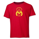 Monarcas Distressed Youth T-Shirt (Red)