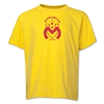 Monarcas Distressed Youth T-Shirt (Yellow)