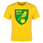 Norwich City Core Youth T-Shirt (Yellow)