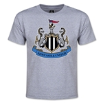 Newcastle United Crest Youth T-Shirt (Gray)