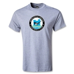 Newcastle United Graphic Youth T-Shirt (Gray)