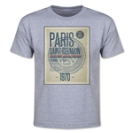 Paris Saint-Germain Poster Youth T-Shirt (Gray)