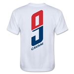 Paris Saint-Germain Player Cavani Youth T-Shirt (White)