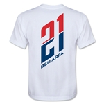 Paris Saint-Germain Player Ben Arfa Youth T-Shirt (White)