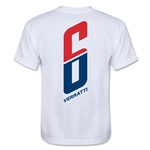 Paris Saint-Germain Player Verratti Youth T-Shirt (White)