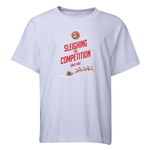 FC Santa Claus Sleighing the Competition Youth T-Shirt (White)