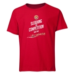 FC Santa Claus Sleighing the Competition Youth T-Shirt (Red)
