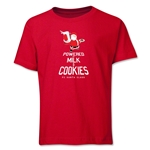 FC Santa Claus Milk and Cookies Youth T-Shirt (Red)