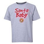 FC Santa Claus Santa Baby Youth T-Shirt (Grey)