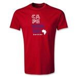Cape Verde Youth Country T-Shirt (Red)