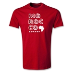 Morocco Youth Country T-Shirt (Red)