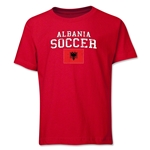 Albania Youth Soccer T-Shirt (Red)