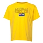 Anguilla Youth Soccer T-Shirt (Yellow)