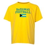 Bahamas Youth Football T-Shirt (Yellow)