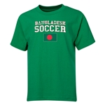 Bangladesh Youth Soccer T-Shirt (Green)