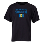 Barbados Youth Soccer T-Shirt (Black)