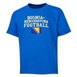 Bosnia-Herzegovina Youth Football T-Shirt (Royal)