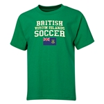 British Virgin Islands Youth Soccer T-Shirt (Green)