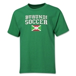 Burundi Youth Soccer T-Shirt (Green)