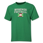 Burundi Youth Football T-Shirt (Green)