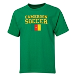 Cameroon Youth Soccer T-Shirt (Green)